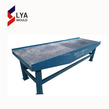 High Efficient Block Vibrating Table Making Tiles