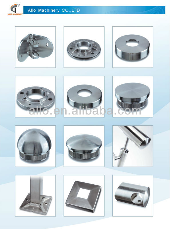 Stainless Steel Railing System Parts Modern Metal Deck