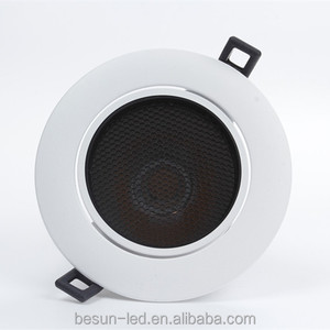 Besun China Suppliers 12w anti-glared design led downlight long life deep recessed led light downlight