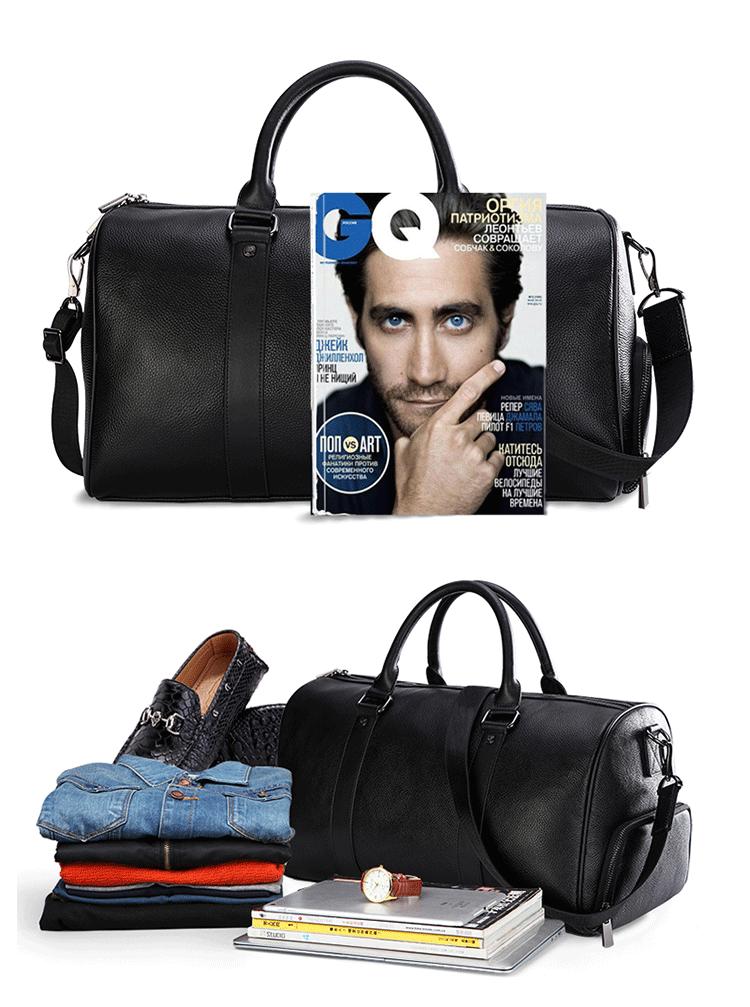 734f8ca69bb8 Модные сумки корейской моды для мужчин's Тренажерный Зал Сумка дорожная искусственная  кожа Сумочка для