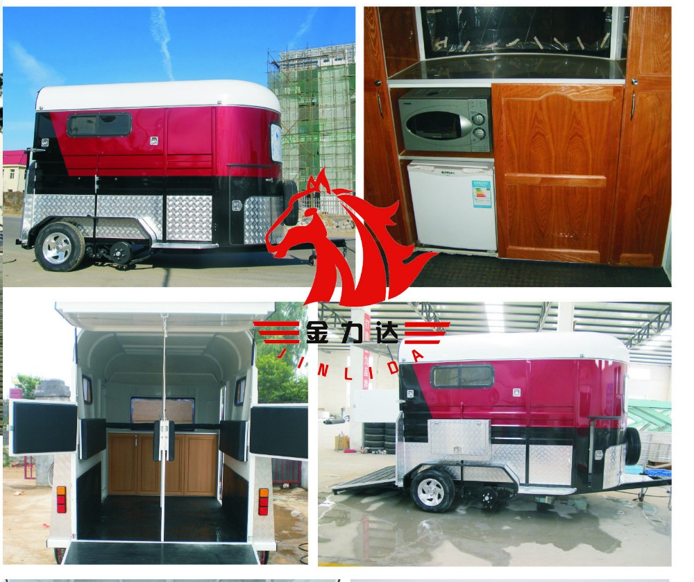 3 Horse Deluxe Gooseneck Trailer Buy Chinese Imported