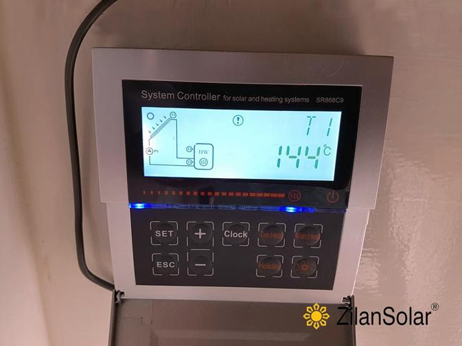Régulateur de chaudière à pression solaire séparé SR868C9