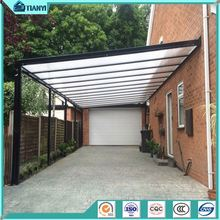 2 Car Parking Canopy Tent Arch Polycarbonate Awning