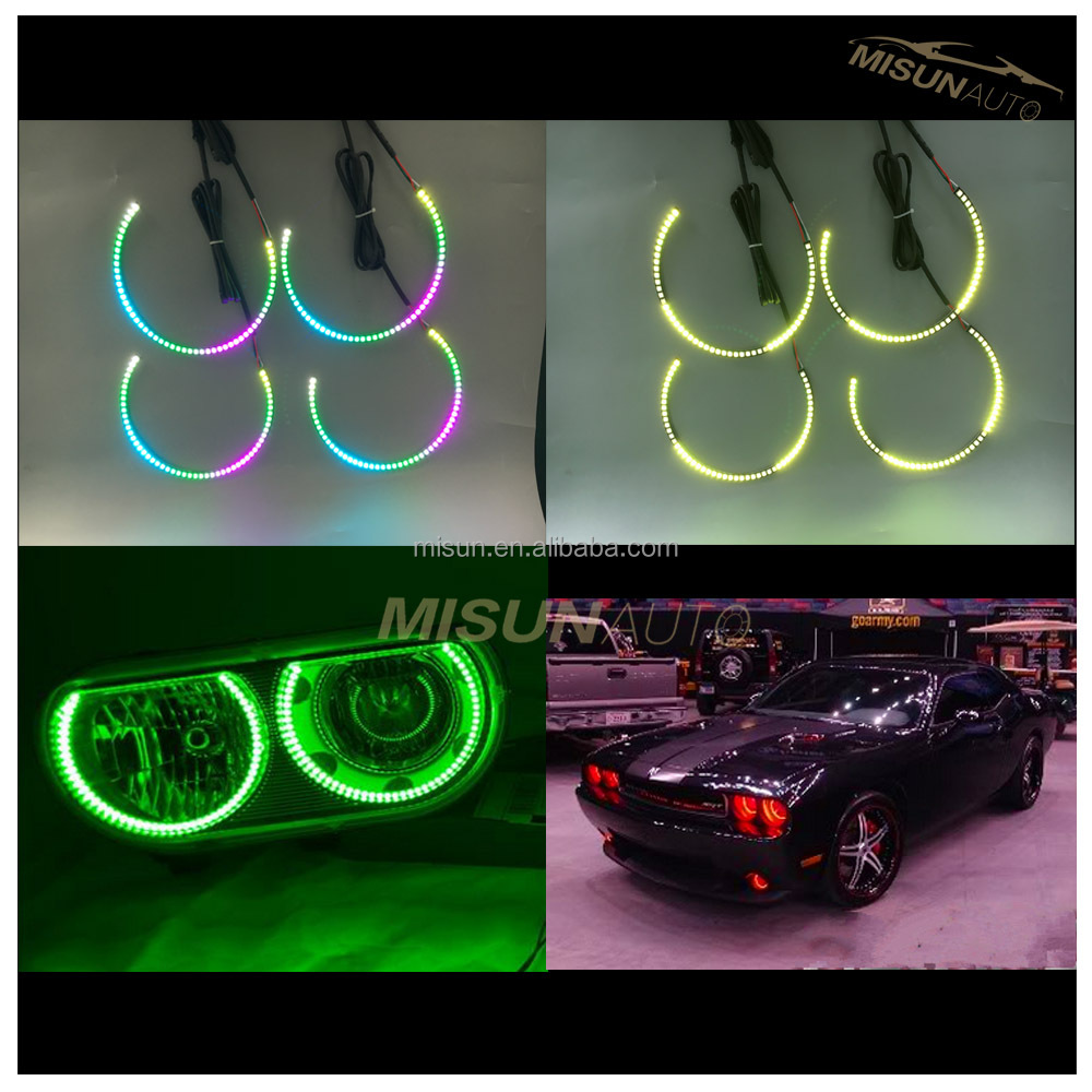 cheap atv for sale led car halo ring for challenger 08-14