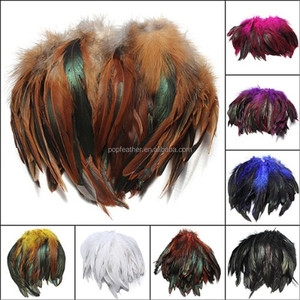 PM-215 15-20 cm DIY Natural rooster feathers