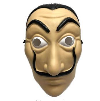 Money Heist The House Of Paper La Casa De Papel Mask For Men Women Salvador  Dali Mask Halloween Carnival Christmas Dali Mask - Buy Dali Mask,Paper La