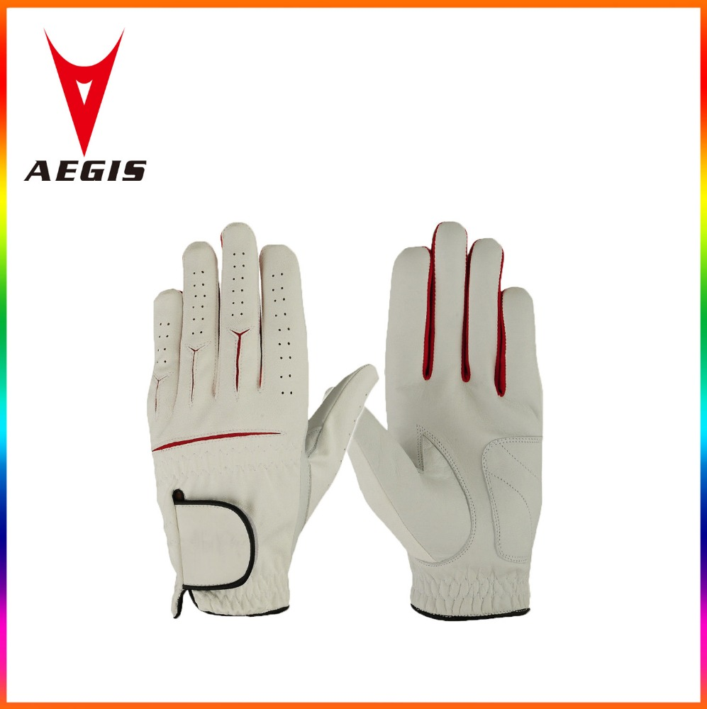 Wholesale leather Golf gloves Premium Cabretta Leather Men's left Hand or Men's right Hand