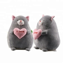 Commercio all'ingrosso anime Giapponese cute cat cartoon femminile cuscino regalo di san valentino <span class=keywords><strong>peluche</strong></span>
