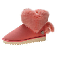 Fashionable low price wholesale canadian fur adult women winter boots 2019