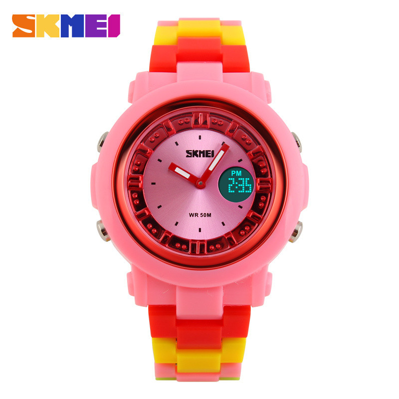 2015 New Reloj Mujer Lady Watch Women Colorful Jelly Digit LED Women Watches Skmei Fashion Casual Quartz Sport Girl Wrist Watch