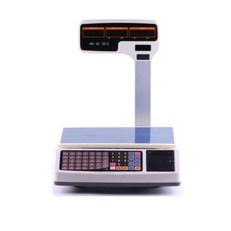 Computing electronic 30kg weighing scale for food with printer support <strong>weight</strong> and quantity sales