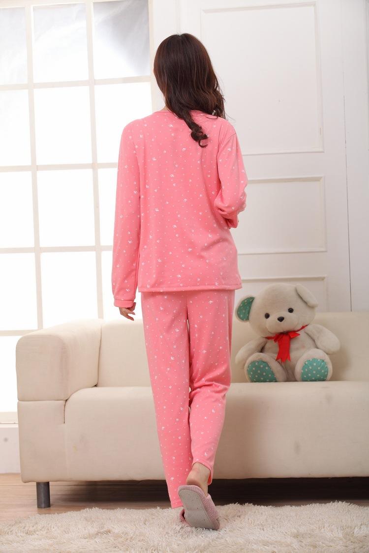 2015 новый месяц обслуживание лактации одежду с длинными рукавами одежда для кормления костюмы обустройства дома женщины пижамы
