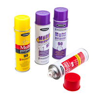 Cheap Aerosol Can Price Aluminum Aerosol Cans Spray Colors Customized CMYK