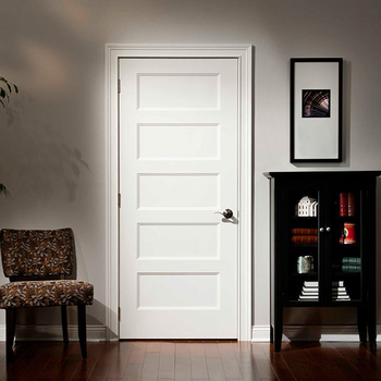American Market Five Panel Interior Shaker Door, MDF Lacquered Shaker Door