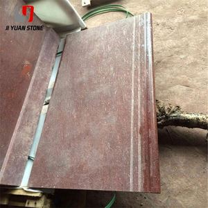 Competitive Price Flamed Surface Stone China Iron Granite Red Tiles