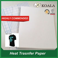 sublimation heat transfer paper for light & dark graments