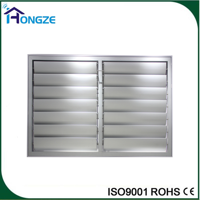Commercial House Fixed High Quality Aluminum Louver Window