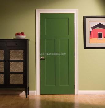 Henan Supplier Soundproof Rubber Seal Pure Teak Solid Wood Interior Door  With Door Frame Kerala Door