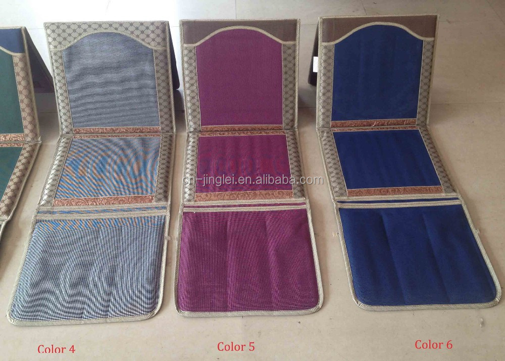 Foldable Muslim Prayer Mat With Backrest Buy Padded
