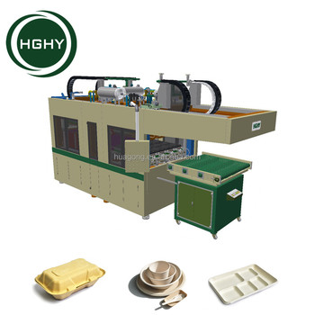HGHY Pulp Molding Tableware Production Line Paper Disposable Plate Making Machine