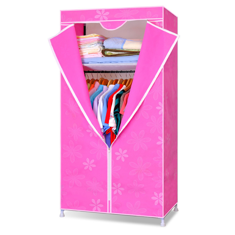 Free Shipping Wardrobe Combination Fabric Large Capacity Bedroom Furniture Storage Cabinet Portable Wardrobe DIY Clothe Wardrobe