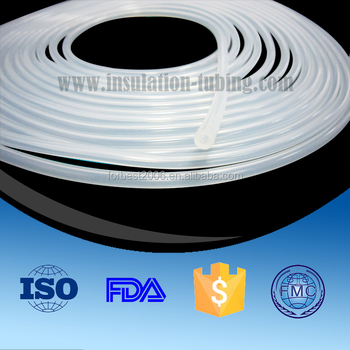 Platinum Silicone Tube With Radiopaque Line ,Medical Grade Silicone Tube Factory