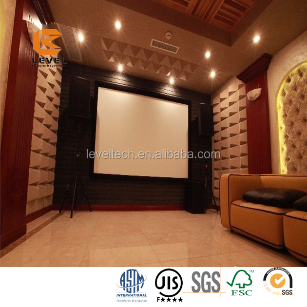 Car Sound Proofing Absorb Plate Polyester Fiber Acoustic Panel Polyester Fiber Acoustics Of Sound For Garages