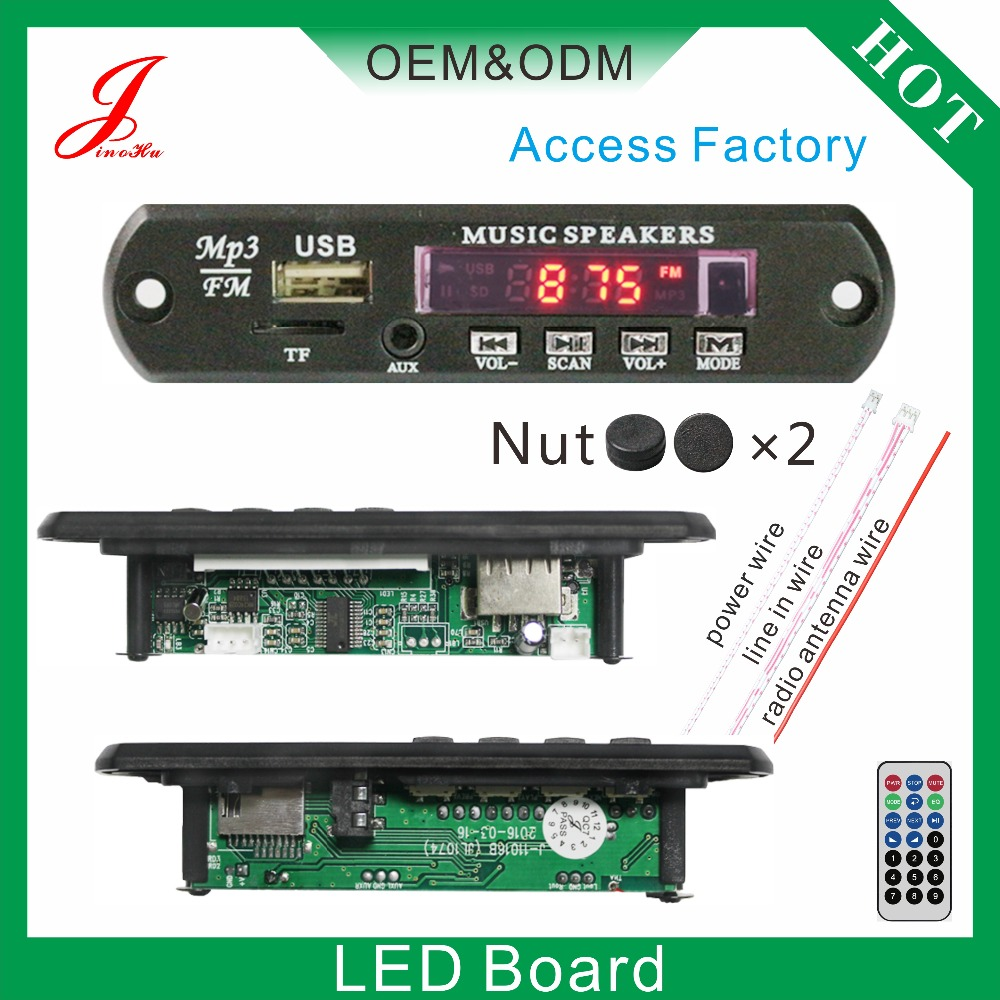 Aux Sd Card Usb Fm Radio Audio Player Circuit Vtf108 Sound Voice Recording Module Suppliers And Manufacturers At