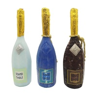 VSOP Champagne Bottle Wine Shape Candles Valentine's Day Wedding Gift Luxury Art Craft Scented Candle Wholesale
