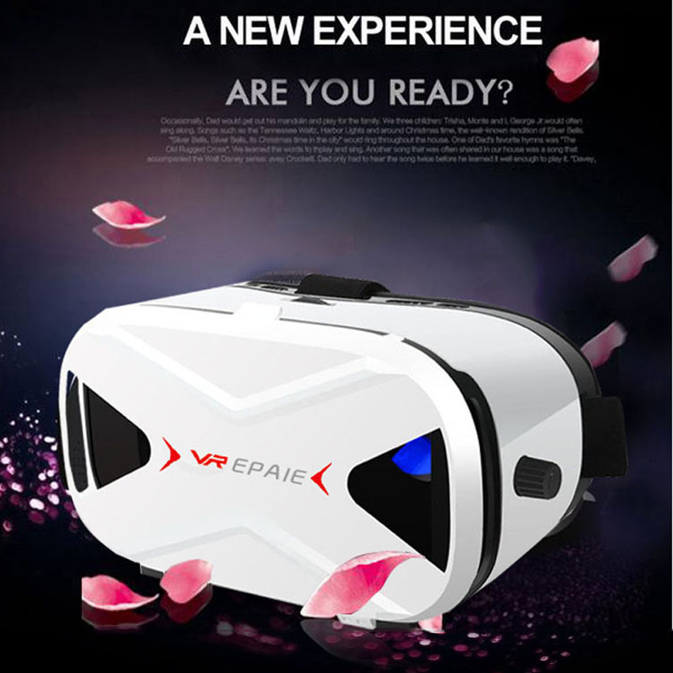 block harmful blue light glass lense vr box virtual reality hd virtual glasses open video