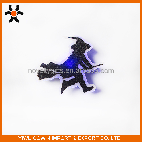 Halloween decoration The witch flash, desk flash