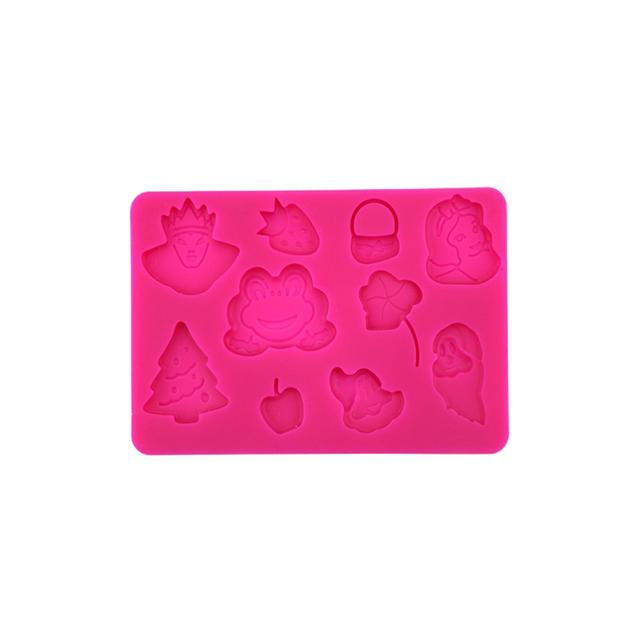 10pcs Romantic Peach Heart Mold Food Grade Silicone Cake Mold//Muffin Cupcake Pan