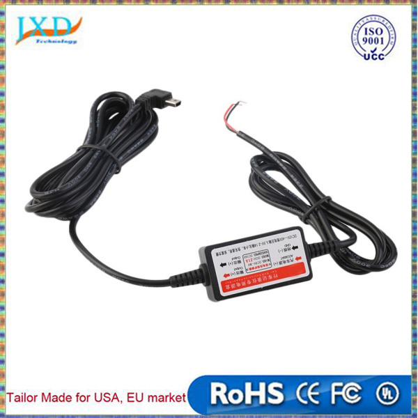 New car DVR power supply box dedicated vehicle traveling data recorder charger 12 v - 24 v to 5 v step-down module