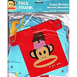 Get Quotations Paul Frank Birthday Banner