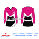Long sleeve cheap wholesale cheer dance wear,fashion design cheerleading uniforms