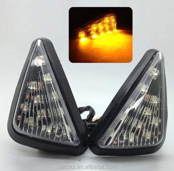 Lumière À Highlight Led clignotants Miroir Moto Face Mini Lampe Universel De Encastré Conduit Triangle Clignotants Avant Buy Led dtsQrh