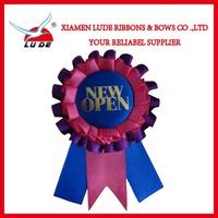 Factory Priced Customized Horse Ribbon Rosette/Award Ribbon Rosette for horse race