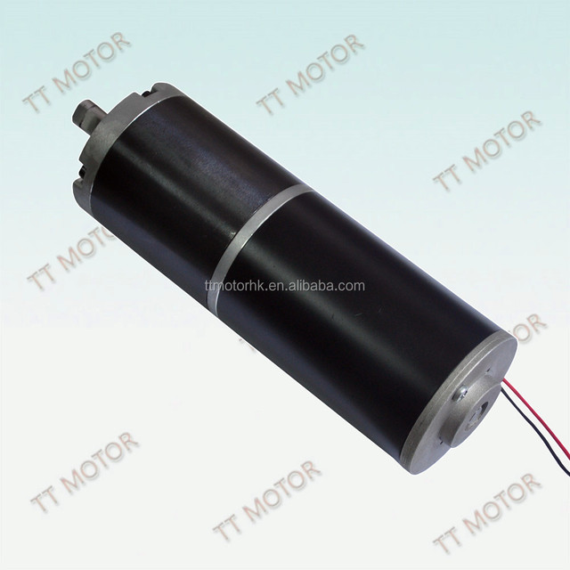 60mm planetary gear 24v dc wiper motor with gearbox