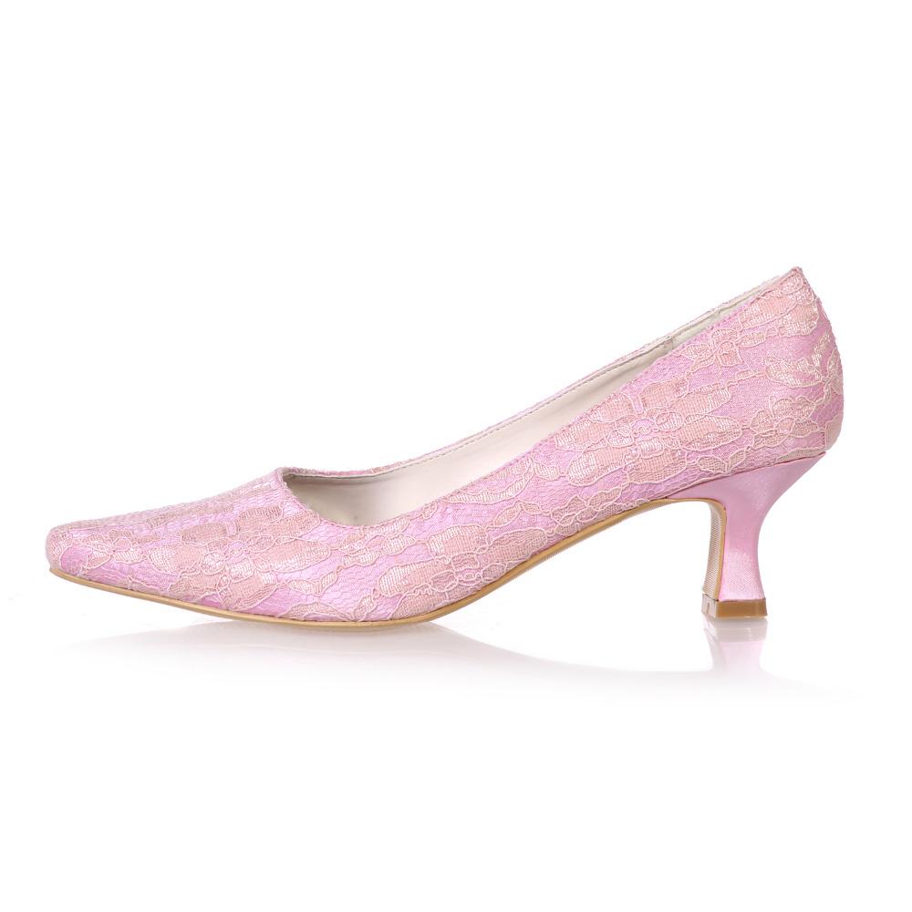 Pink Low Heel Dress Shoes - Red Heels Vip caf6174fb836