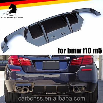 For Bmw F10 M5 Dtm Type Carbon Fiber Rear Diffuser Spoiler M5 Only - Buy  F10 M5 Carbon Diffuser,M5 Rear Diffuser,Rear Diffuser Spoiler Product on