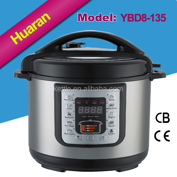 Home appliance 8L japanese electric stainless steel pressure cooker