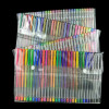 Multicolor Gel Pens in Clear Box (120 Count)
