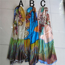 Wholesale fashion silk scarf / scarf silk scarf bound