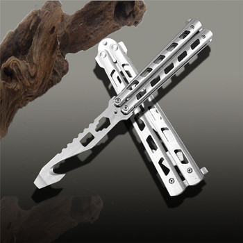 Night Practice Balisong Unsharped Edge Sturdy Heavy Trainer Knife High  Quality Knife Factory - Buy Night Practice Balisong,Unsharped Edge  Knife,Sturdy