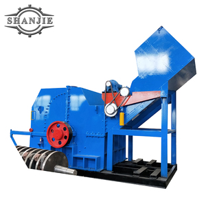 High efficiency automatic scrap metal hammer crusher machine for waste car body steel drums cans recycling price