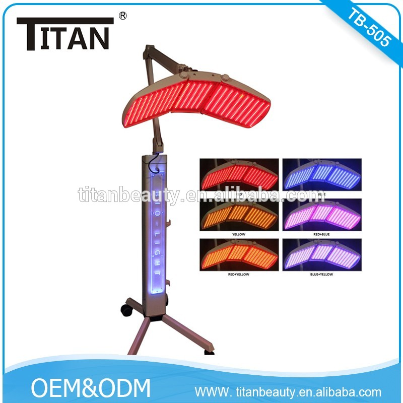 RED LED Light Therapy/Photon/ Hair Growth/ PDT therapy Wrinkle Removal Bipolar RF facial lifting beatuy machine