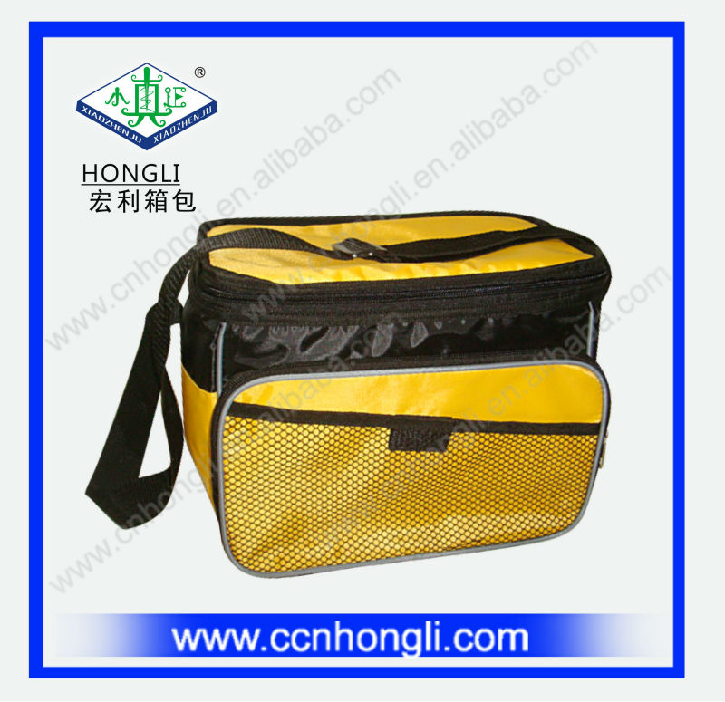 OEM Factory Customized Outdoor Picnic Thermal Insulated Cooler with Shoulder 4 or 6 bottles Can/Wine/Beer Frozen Cooler Bag