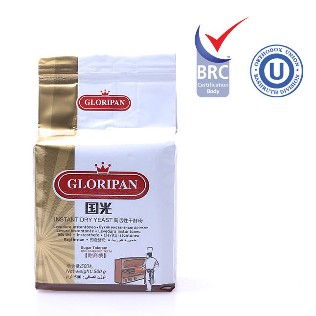 Gloripan sugar-tolerant instant dry yeast 500g for bread