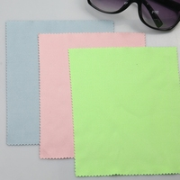 High quality lint free non woven professional thin laser cut premium microfiber glass cleaning cloth