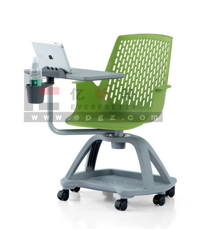 School Node Chair With Swivel Tablet And Cup Holder